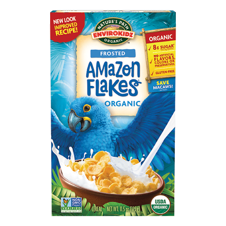 Nature's Path Envirokidz Organic Frosted Amazon Flakes 325g
