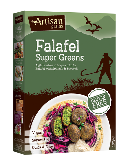 Artisan Falafel Super Greens Mix 150g