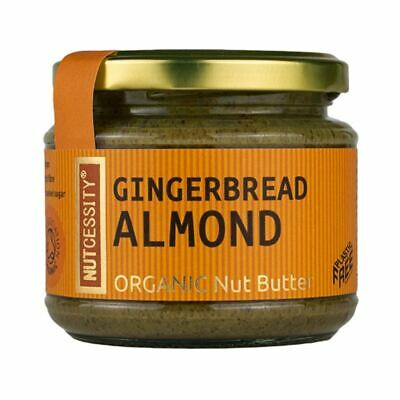 Nutcessity Organic Gingerbread & Almond Nut Butter 180g