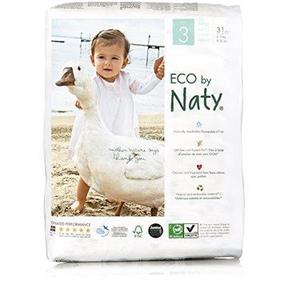 Eco by Naty Size 3 Diapers, 31 pieces