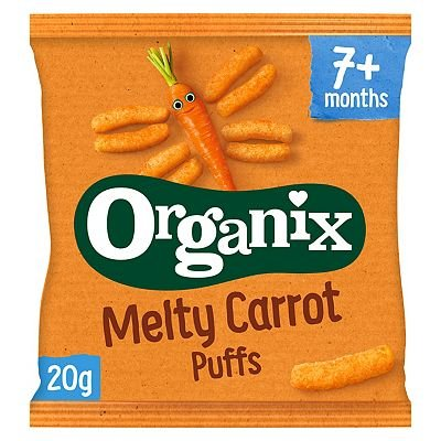 Organix Finger Foods Carrot Sticks 20g