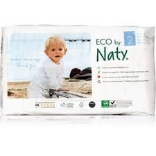 Eco By Naty Size 2 Diaper, 34 pieces