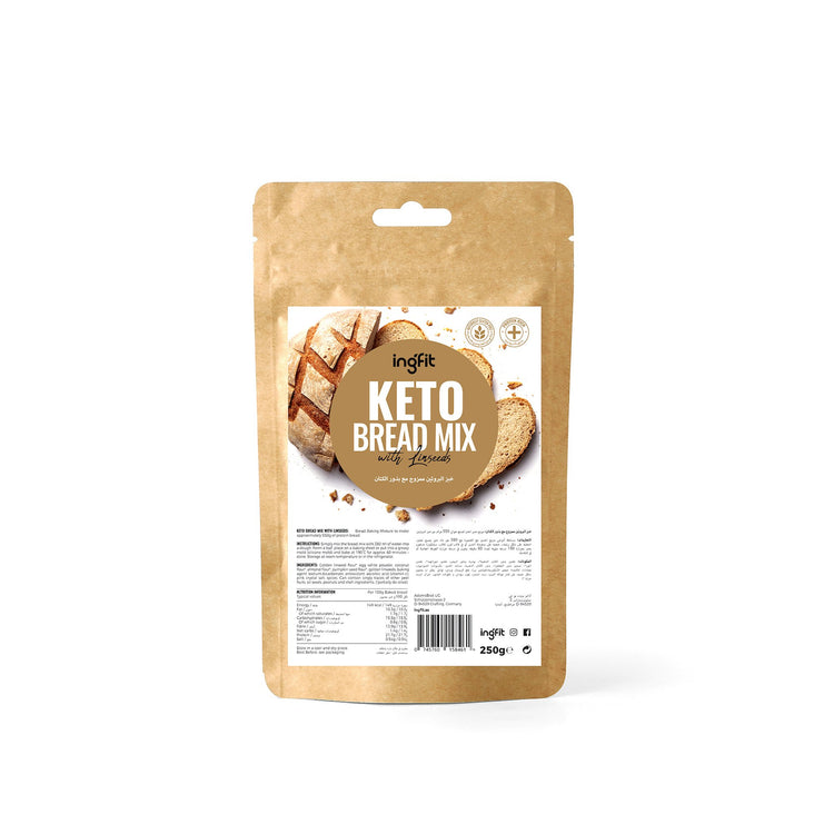 Ingfit Keto Bread Mix with Linseeds 250g