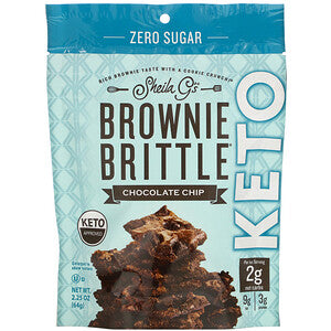 Brownie Brittle Keto Chocolate Chip 64g