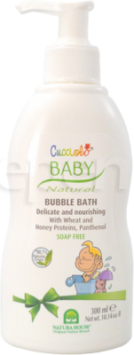 Cucciolo Baby Natural Bubble Bath 300ml