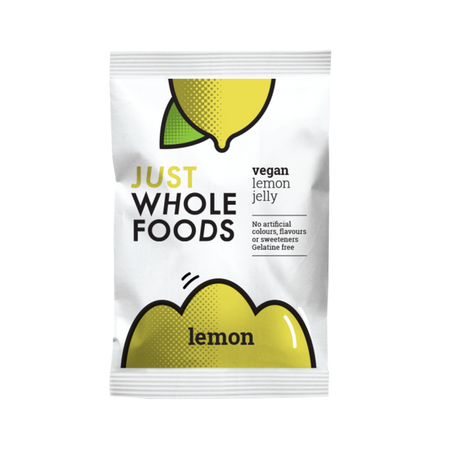 Just Whole Foods Vegan Lemon Jelly 85g