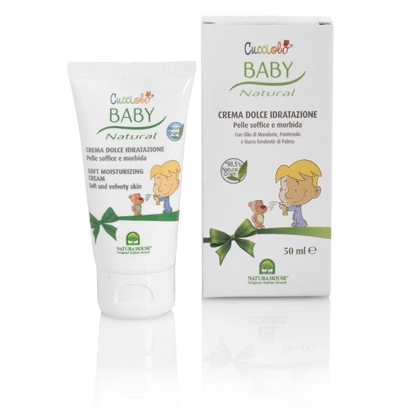 Cucciolo Baby Natural Soft Moisturizing Cream 50ml