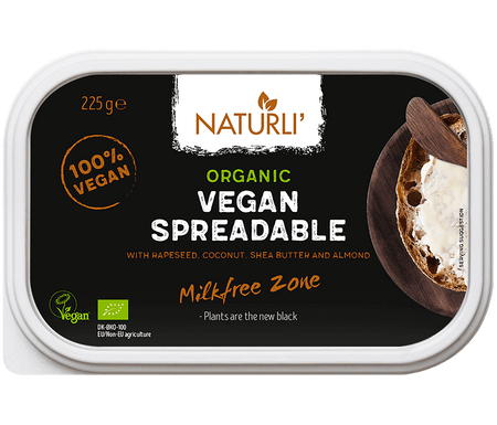 Naturli Organic Vegan Spreadable Butter 225g