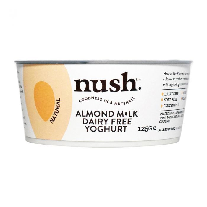 Nush Dairy Free Almond Milk Yogurt Natural 120g