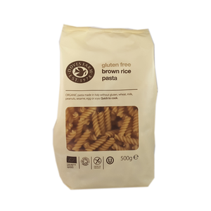 Doves Farm Organic Brown Rice Pasta Fusilli 500g, Gluten Free