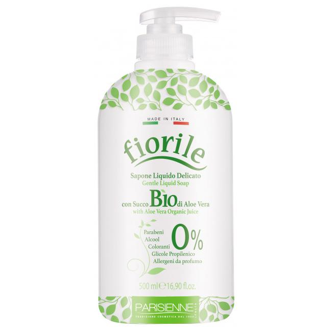 Fiorile Gentle Liquid Soap with Aloe Vera Organic Juice 500ml