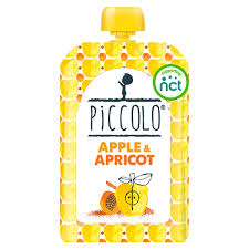 Piccolo Organic Apple and Apricot 100gr