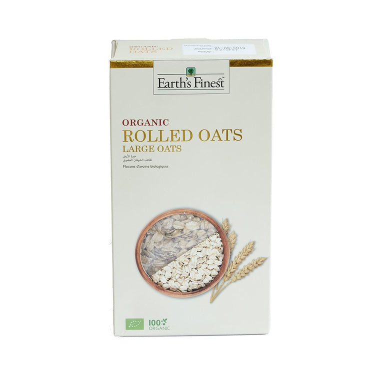 Earth's Finest Organic Rolled Oats 500g