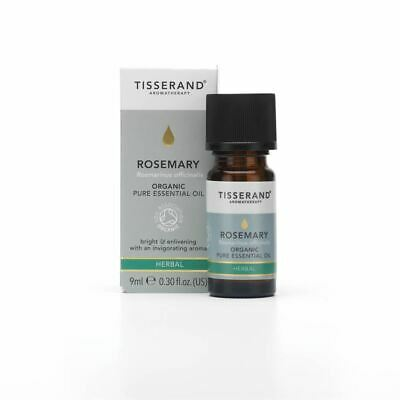 Tisserand Aromatherapy Organic Rosemary Pure Essential Oil 9ml
