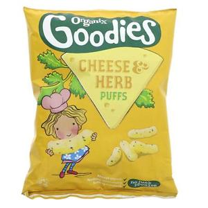 Organix Goodies Cheese & Herb Puffs 15g