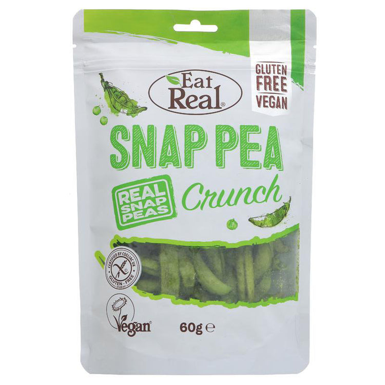 Eat Real Snap Pea Crunch 60g