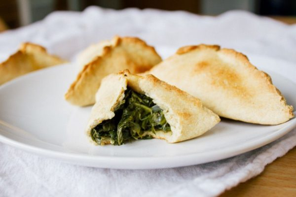 Organic Spinach Fatayer