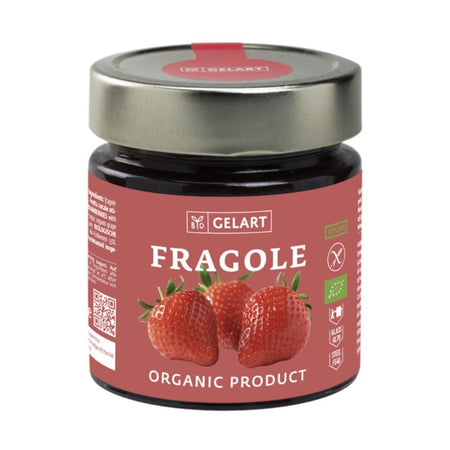 Gelart Organic Strawberry Jam 300g