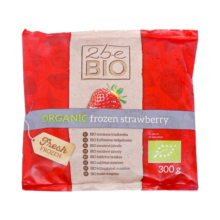 2BE Organic Frozen Strawberry 300g