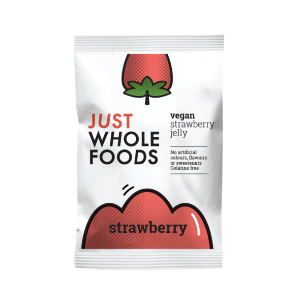 Just Whole Foods Vegan Strawberry Jelly 85g