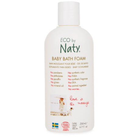 Eco by Naty Baby Bath Foam 200ml