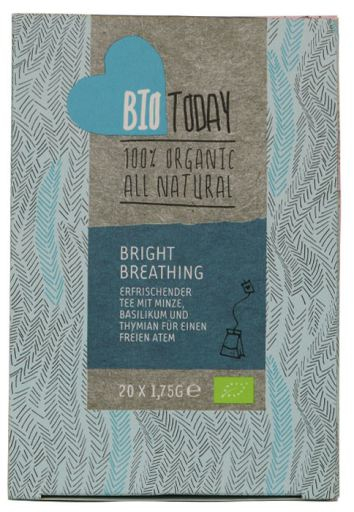 Bio Today Organic Bright Breathing Tea, 20 bags