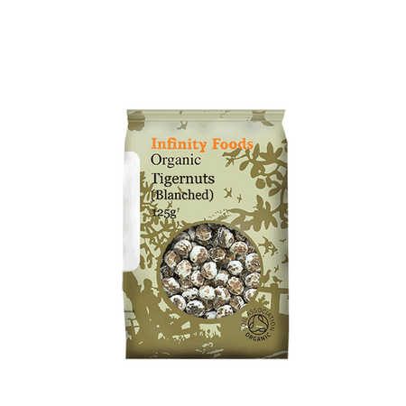 Infinity Foods Organic Tigernuts Blanched 125g