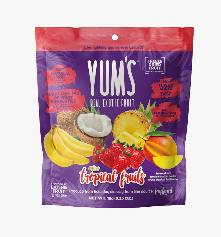 Yum's Natural Freeze Dried Tropical 10g