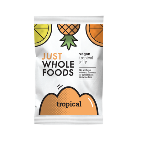 Just Whole Foods Vegan Tropical Jelly 85g