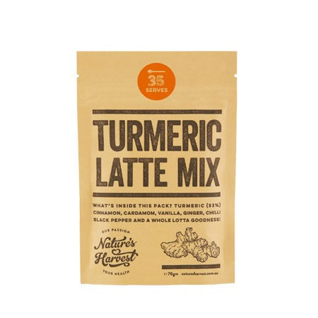 Nature's Harvest Turmeric Latte Mix 70g