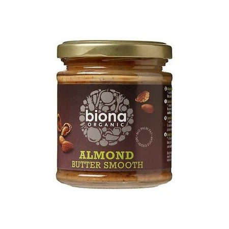 Biona Organic Smooth Almond Butter 170g