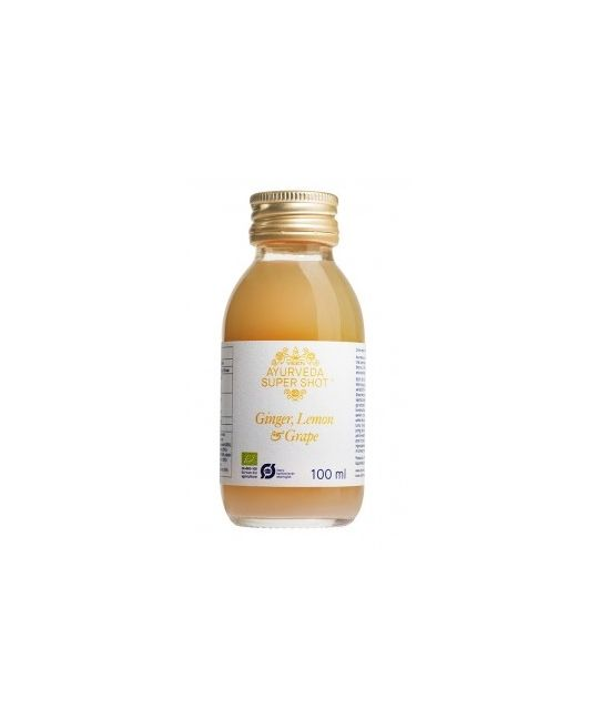 Ayurveda Organic Ginger, Lemon & Grape Super Shot 100ml