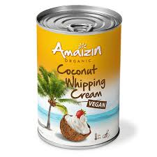 Amaizin Organic Vegan Coconut Whipping Cream 400ml