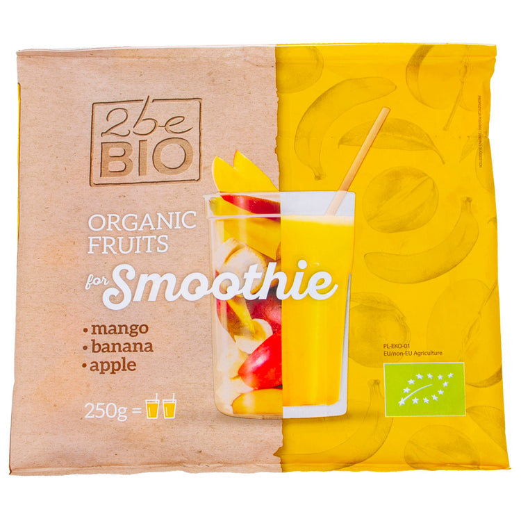 2BE Organic Frozen Yellow Smoothie  250g