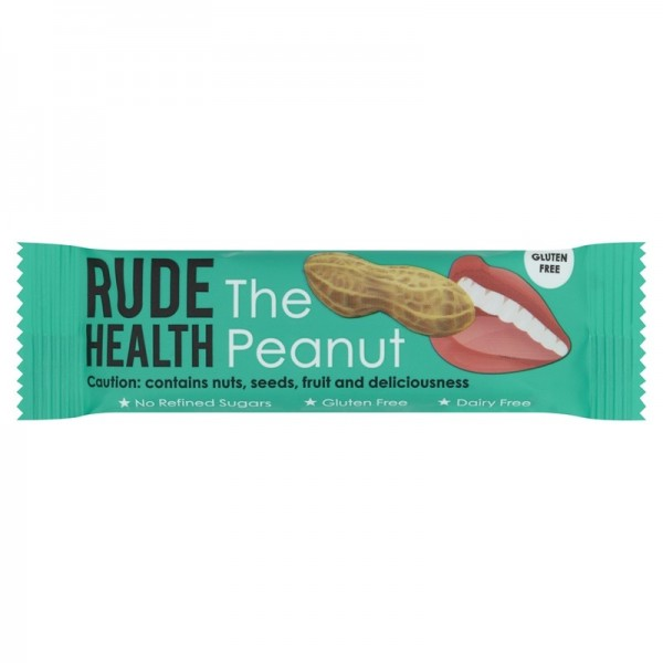 Rude Health The Peanut Bar 35g, Gluten Free