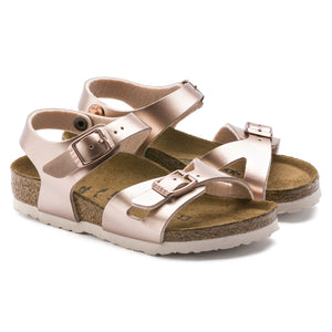 NEW YORK BIRKO FLOR | ELECTRIC METALLIC COPPER | BIRKENSTOCK