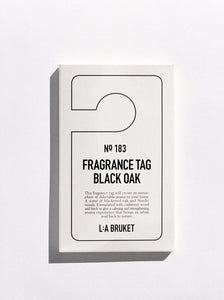 183 | FRAGRANCE TAG BLACK OAK | LABRUKET
