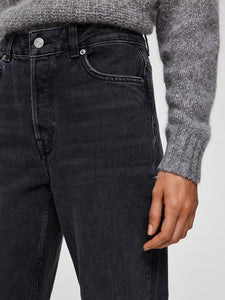 SLFKATE STRAIGHT | GREY DENIM | SELECTED