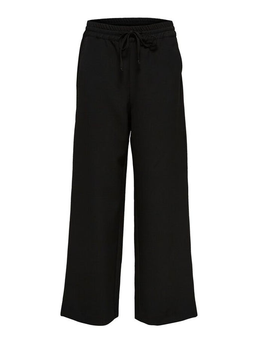 SLFSIA WIDE PANT | BLACK | SELECTED