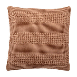 CUSHION COTTON |BROWN | BLOOMINGVILLE