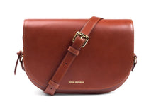 Load image into Gallery viewer, RAF CURVE HANDBAG | COGNAC | ROYAL REPUBLIQ