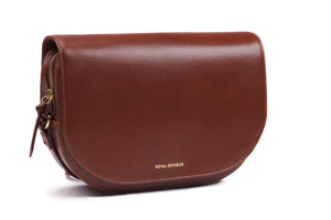RAF CURVE HANDBAG | COGNAC | ROYAL REPUBLIQ