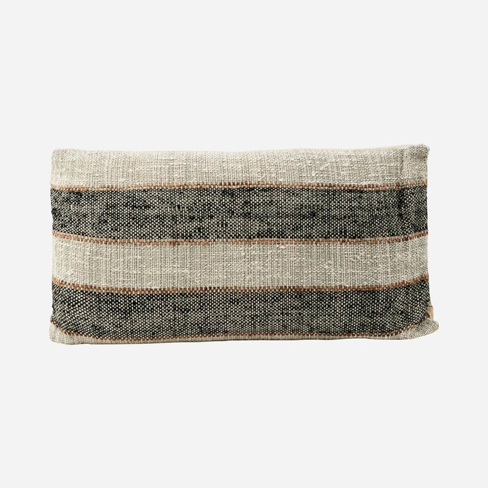CUSHION COVER LINN | GREY | 40X75