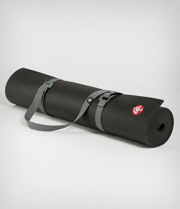 GO MOVE MAT CARRIER | BLACK 2 TONE BLACK | MANDUKA