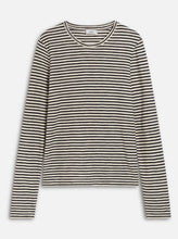 Load image into Gallery viewer, STRIPED LONGSLEEVE | BLACK | CLOSED