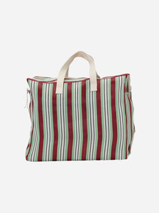 WEEKEND BAG | RECY | RED/GREEN