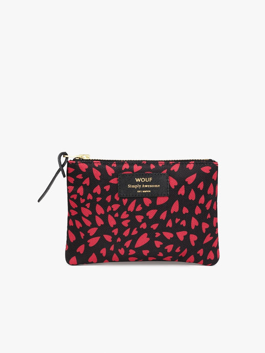 SMALL POUCH HEARTS | WOUF