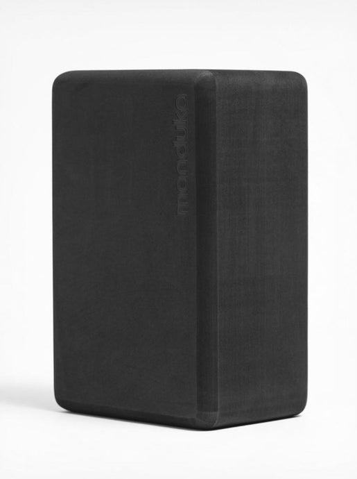 RECYCLED FOAM YOGA BLOCK | THUNDER