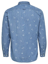 Load image into Gallery viewer, SLHSLIMNOLAN | PRE SHIRT LS MIX W | LIGHT BLUE | SELECTED MEN