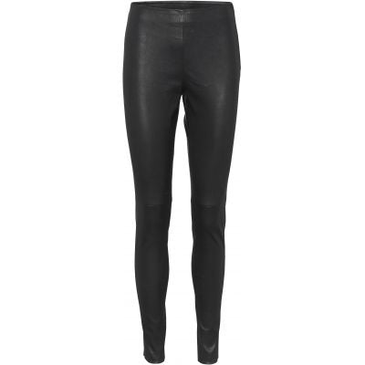 NILI LEATHER LEGGING - BLACK - NORR